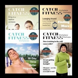 Personalised health and fitness workplace magazines