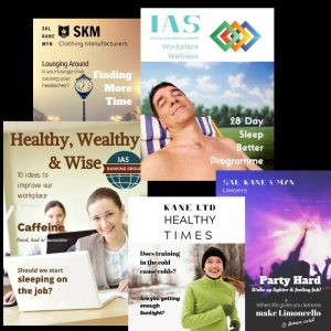 Fully customized workplace magazines